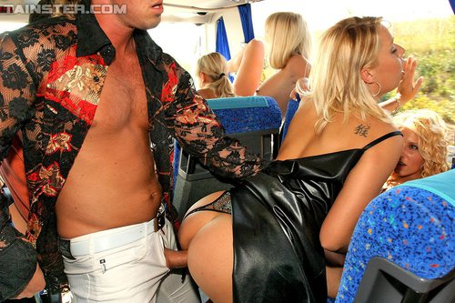 party bus porn
