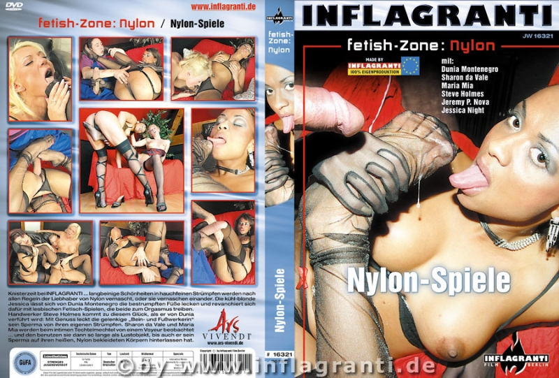 Fetish-Zone: Nylon - Nylon-Spiele Cover
