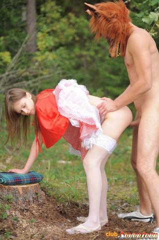 юна красна шапочка порно сказка фото
