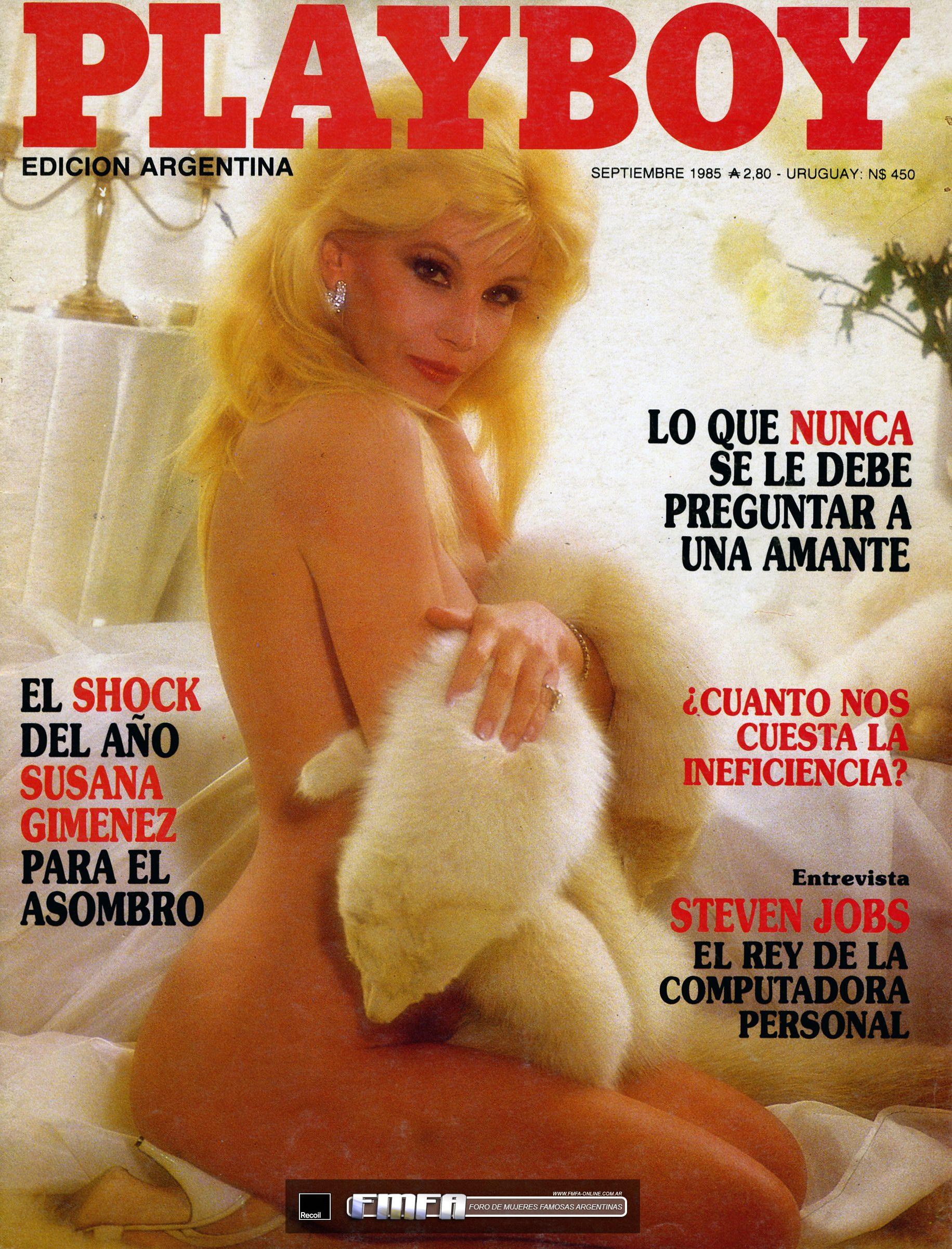 Argentinas y Playboy