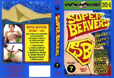 Super Beavers Vol 7 (1960)  Cover