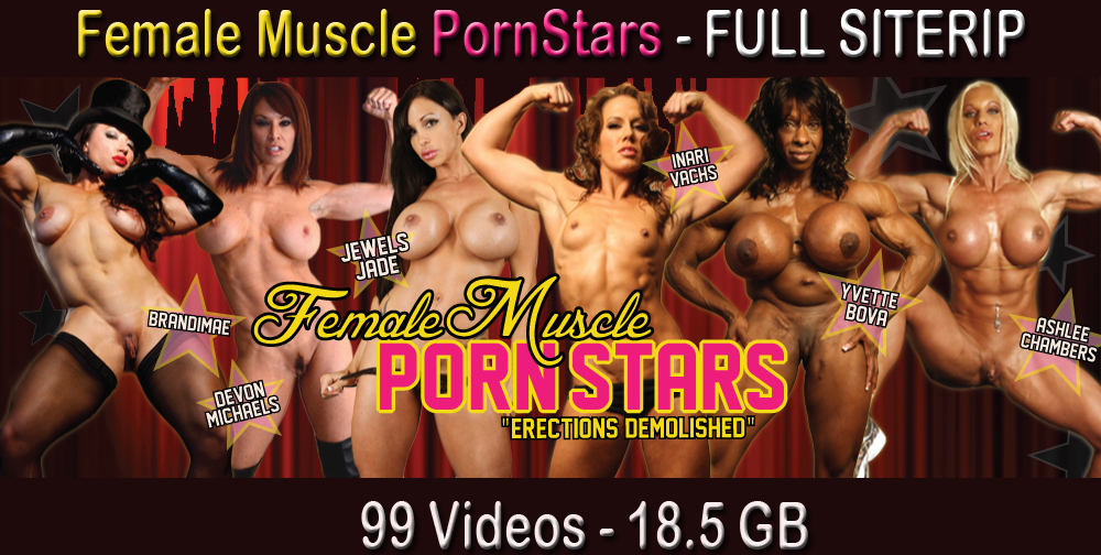 FemaleMusclePornStars cover FemaleMusclePornStars   Full Siterip (2011 2013)