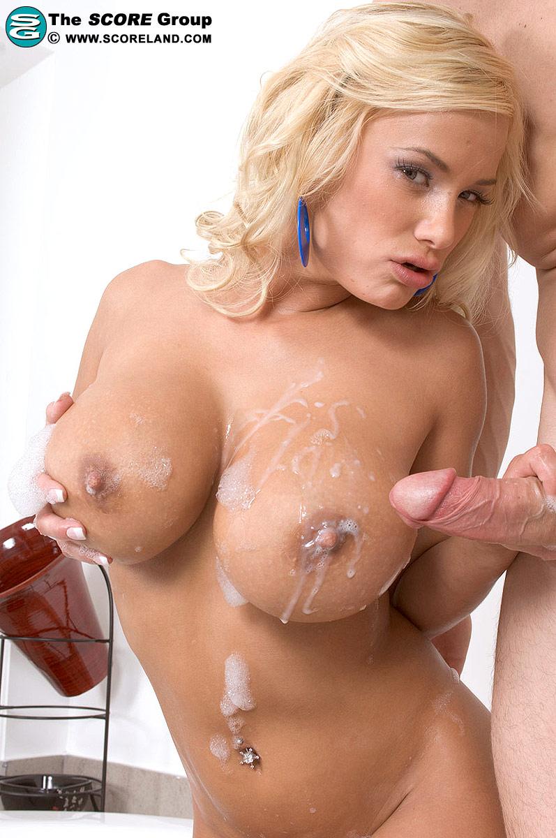 Female porn stars cumshots