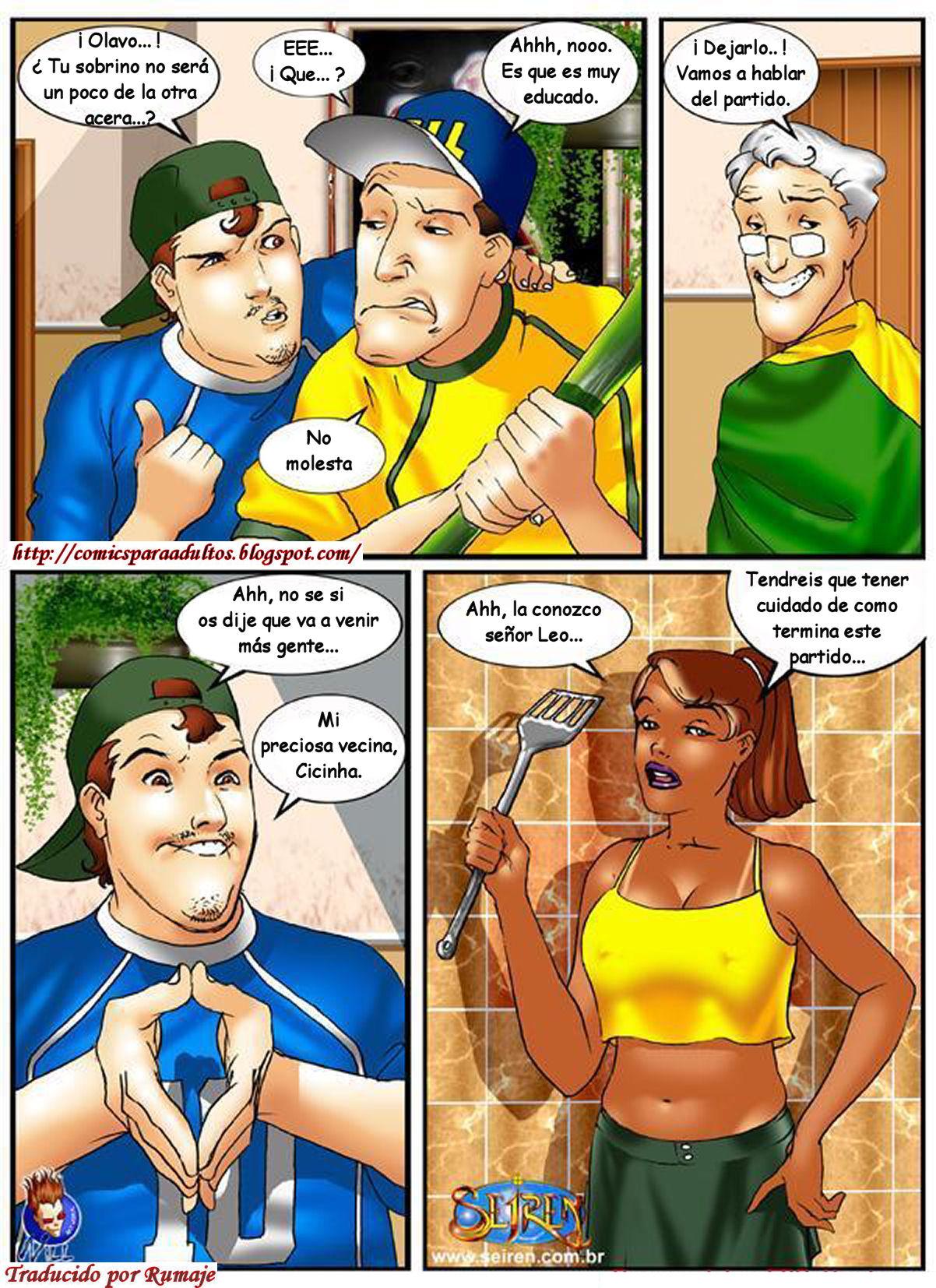 Comic hentai español