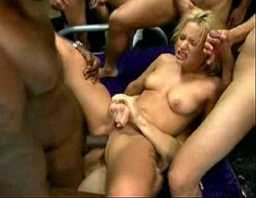 The gangbang girl 34 hot terrific