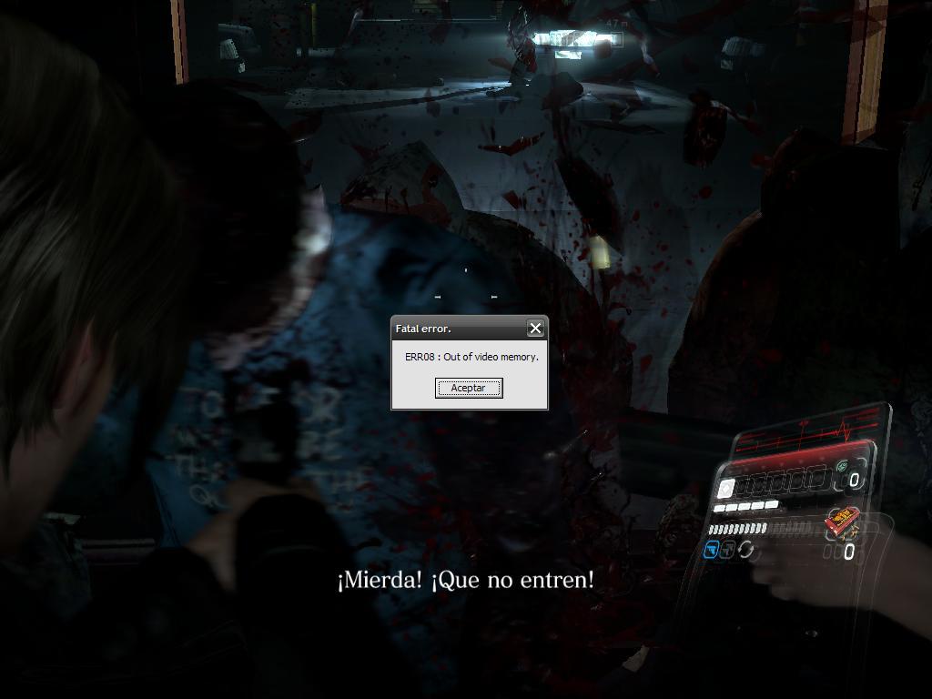 [consulta] Dos problemas con Resident Evil 6