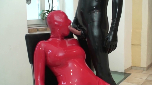 Rubber and latex fetish