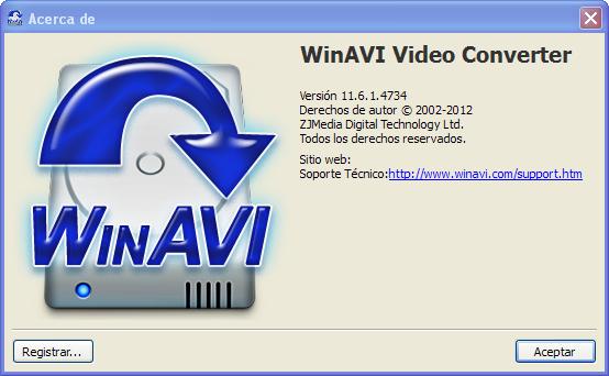 WinAVI Video Converter vous offre la possibilité d'encoder avec une fa