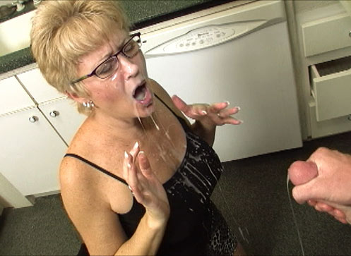 Mom loves jizz in her face consider, that
