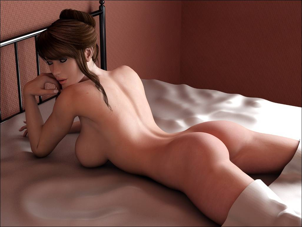 Hot young 3d nude girls sex image