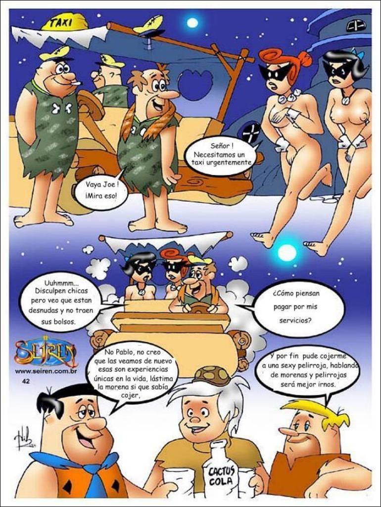 Comic XXX Los Picapiedra I y II mas Video (Colección Imperd