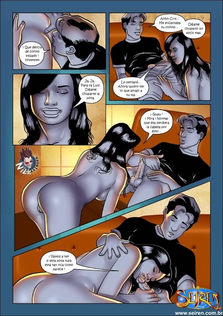 Comic XXX Mi Primita Caliente 1- 5 (Colección Imperdible)