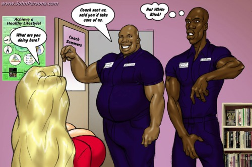 Two Hot blondes hunt for big black cocks (CXXX by J.Persons)