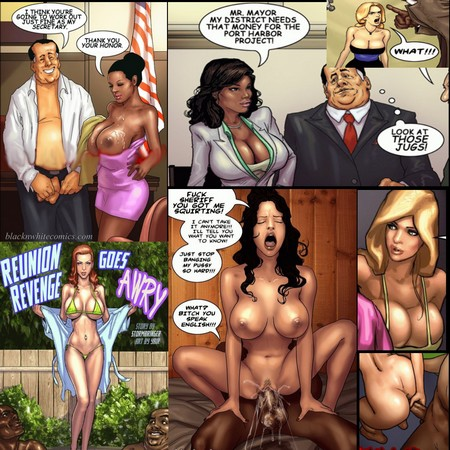 john persons the pit amp interracial comix   page 23   porn w
