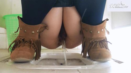 Real toilet voyeur: pussy shots, pooping, pissing ...