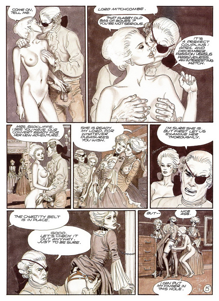 Judith and holofernes comic