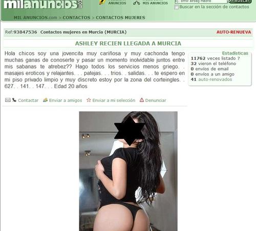 prostitutas en murcia foro prostitutas madrid