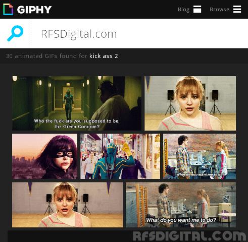 Giphy.com - Mi buscador de GIFs animados favorito