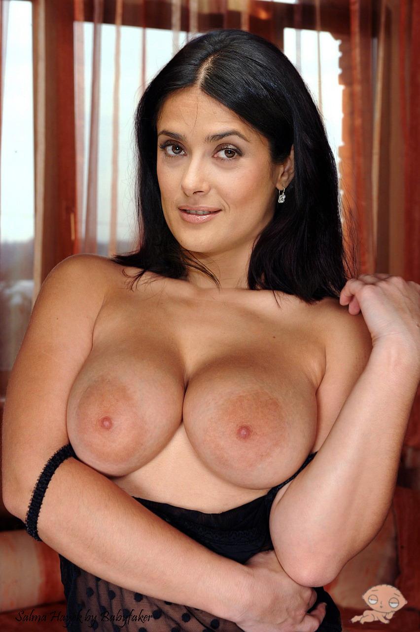 Salma hayek and her runaway boobs