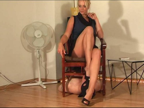 Footstool For Lady Patricia Femdom