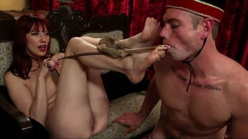 Madeline And Slave John Femdom
