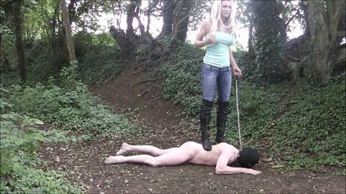Abusing My Slave Femdom