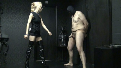 Toe Punting Your Balls Femdom