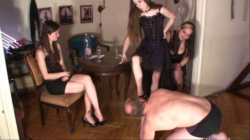 3 Lady Humilation Femdom
