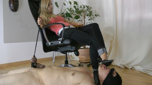 Tongue For My Soles Femdom