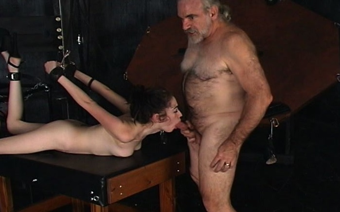 Old man fucking old granny group