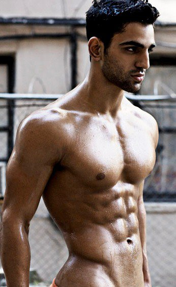 Handsome iranian hunk naked gay good mate the rock hammers the streets in search for some